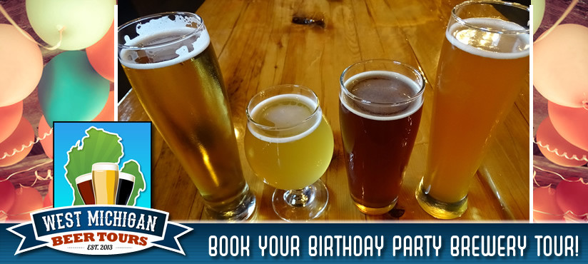 Book Your Birthday Party Brewery Tour!