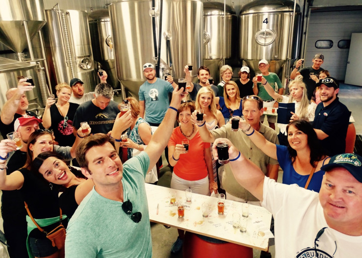 Walking Tours of downtown Kalamazoo breweries are now offered year-round