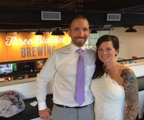 Power outage doesn't stop couple's wedding at a west Michigan brewery